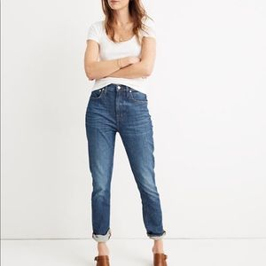 🔥Madewell high rise boyfriend cut jeans!!🔥